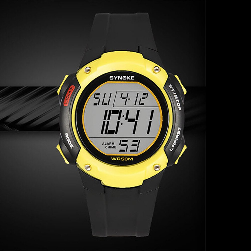 856store Big Promotion Sports Men Alarm Chronograph Date Waterproof Luminous Digital Wrist Watch Gift by 856store (Image #2)
