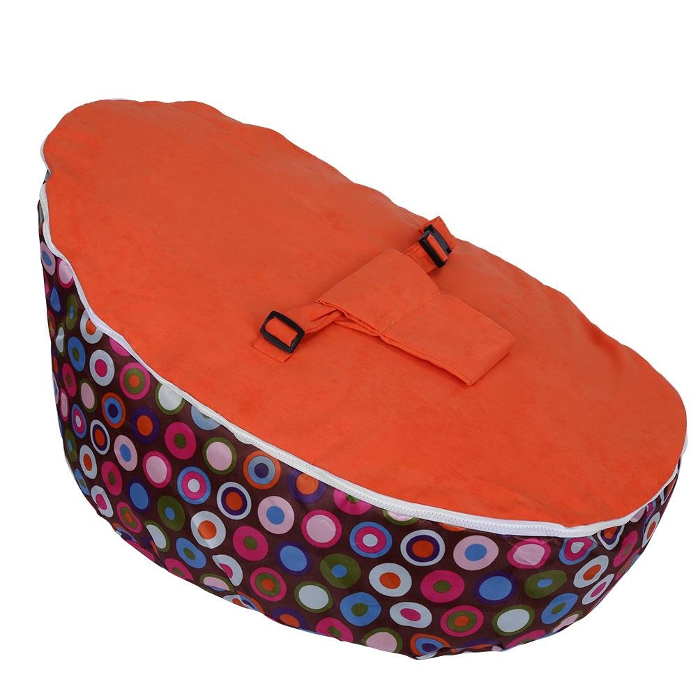 FTVOGUE Newborn Lounger Baby Toddler Infant Sleeping Bed Children Nursery Seating Without Filling(02)