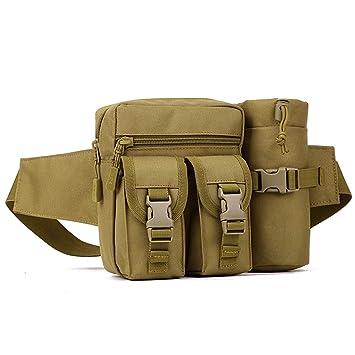 Huntvp Bolso de Cintura Mochila Táctical Bolso de Cintura Bolsa Riñonera  Bandolera Cinturón Estilo Militar Bolso 66604eed1d6c
