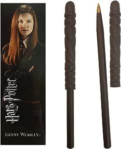 The Noble Collection Harry Potter Wand Pen y Marcador de Ginny Weasley,