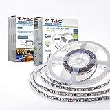 V-TAC 10W LED Strip Light Kit with Power Supply - 5-metre roll - 60 LED per Meter - 1000 lumens - 6000K White