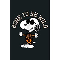 Peanuts Halloween Snoopy Bone To Be Wild: Notebook Planner -6x9 inch Daily Planner Journal, To Do List Notebook, Daily…