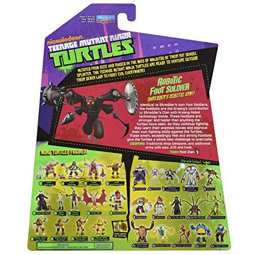 teenage mutant ninja turtles robotic foot soldier figure. Black Bedroom Furniture Sets. Home Design Ideas