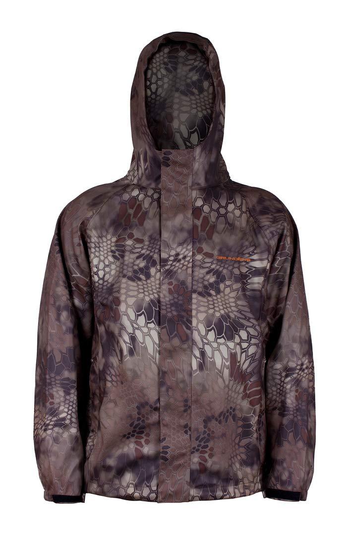 Grundéns Men's Neptune Fishing Jacket, Kryptek Highlander - Medium