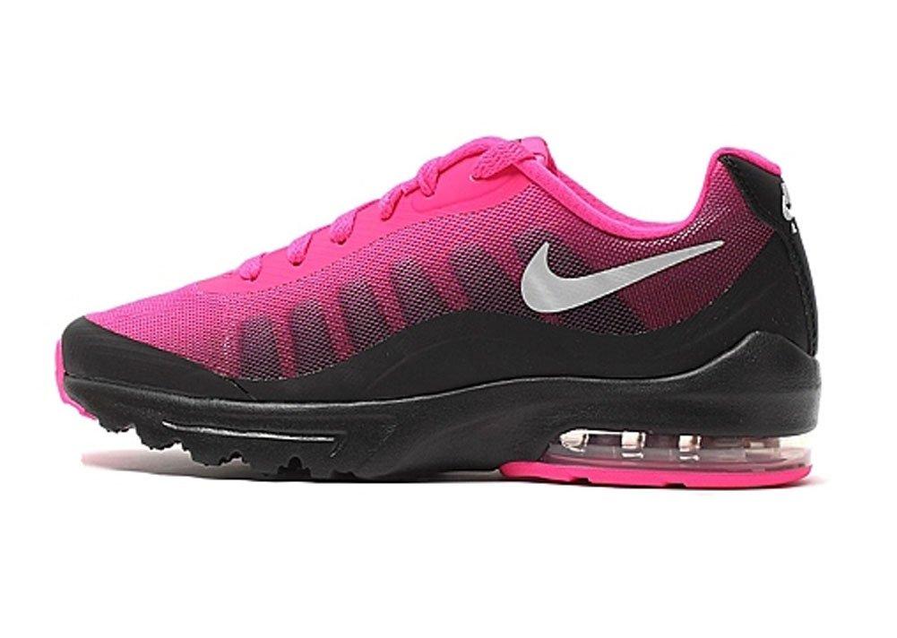NIKE Women's Air Max Invigor Print Running Shoe B018Z61QUI 5 B(M) US|Black/Metallic Silver-pink Foil