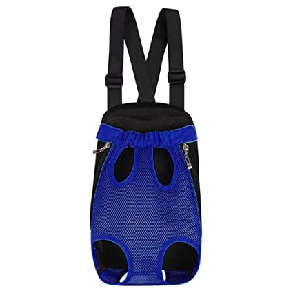 960efb4dcc8a Pet Carrier Backpack, Hands-Free Adjustable Legs Out Front Dog Carrier for  Puppy Cat Dogs with Wide Straps and Shoulder Pads for Traveling Hiking ...