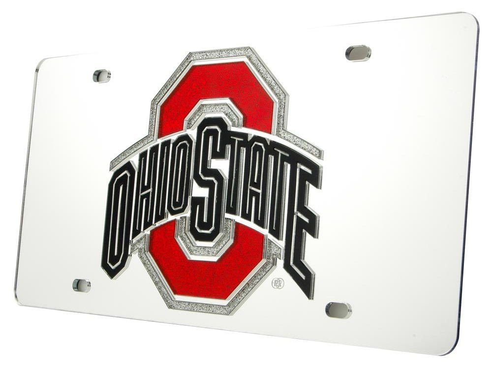WinCraft Ohio State University S08451 Acrylic Classic License Plates