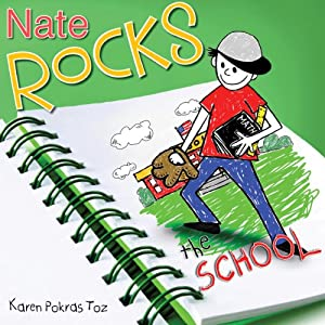 Nate Rocks the School Audiobook