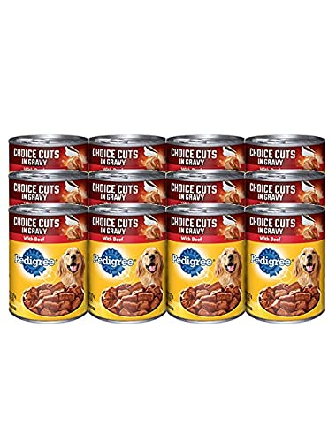 Pedigree 12 Piece Cut Beef Pet Treat, 22 Oz