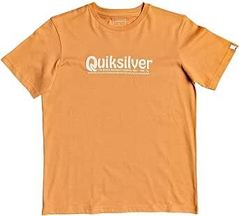 Quiksilver New Slang - Camiseta para Chicos 8-16 Screen tee Niños