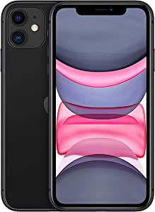 Apple iPhone 11 with FaceTime Physical Dual SIM - 64 GB, 4G LTE, Black