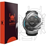 LG Watch Sport Screen Protector + Full Body , Skinomi TechSkin Full Coverage Skin + Screen Protector for LG Watch Sport Front & Back Clear HD Film