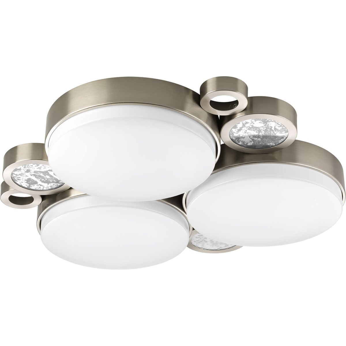 Progress Lighting P3747-0930K9 Bingo 3 Light LED Flush Mount Cluster with AC Module by Progress Lighting