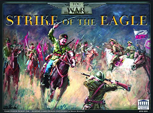 Academy Games Fog of War - Strike of The Eagle (1775 Rebellion Board Game)