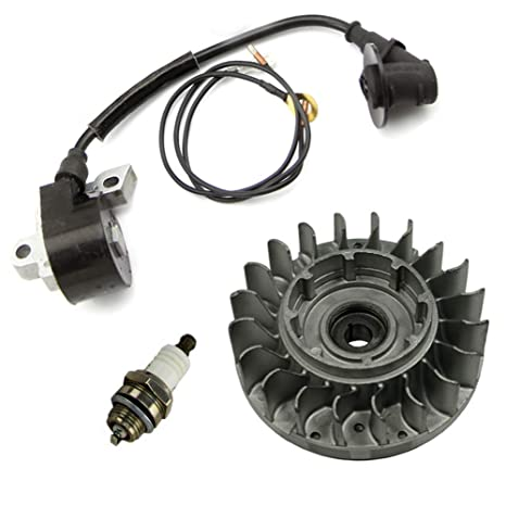 Amazon com: Farmertec SawKits Flywheel Fly Wheel Ignition