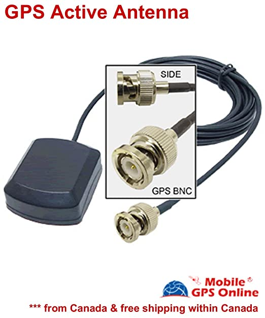 Garmin GPS BNC-Stecker Antenne Externe Amplified: Amazon.de ... on