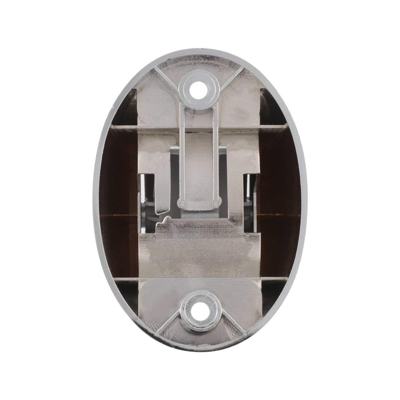 MXECO port/átil aerosol cabezal de ducha de ba/ño sostenedor del soporte de montaje en pared Plata Pl/ástico cuna ajustable Soporte Ba/ño Ducha