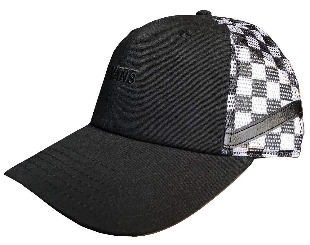 4ffa6bcbd2549 Vans Men's Sidestripe Court Snapback Hat Black/White One-Size VN0A3MYTP53:  Amazon.co.uk: Sports & Outdoors