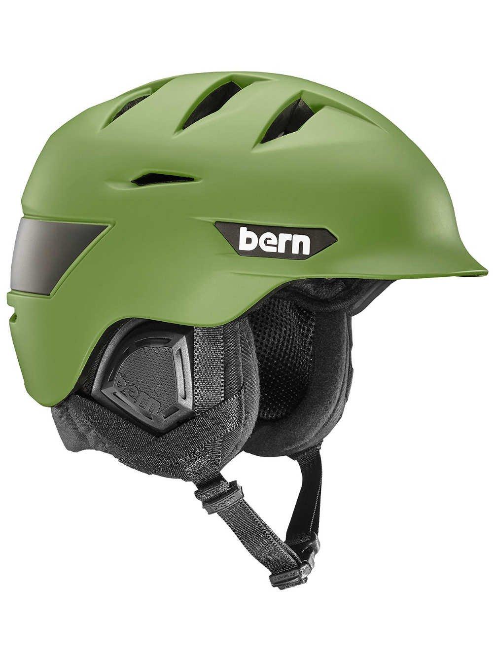 Bernヘルメット – BernヘルメットRollins – マットブラック B01M1G79TC S/M matte fatigue green matte fatigue green S/M