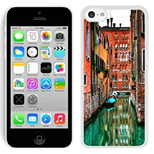Beautiful And Unique Designed Case For iPhone 5C With Venetian Flooded Streets (2) Phone Case