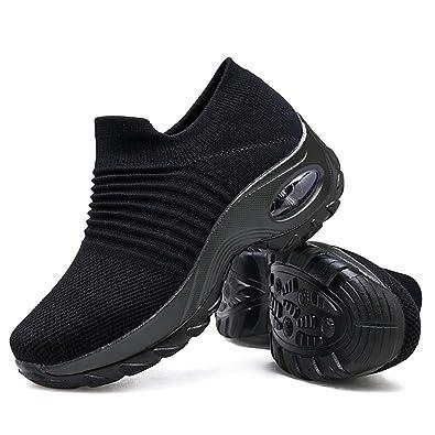 Women's Walking Shoes Platform Loafers