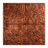 Fasade Easy Installation Traditional 2 Moonstone Copper Lay In Ceiling Tile/Ceiling Panel (2' x 2' Tile)