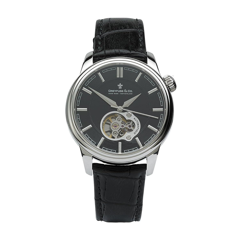 Dreyfuss 1925 Automatik-Armbanduhr fÜr Herren - StahlgehÄuse - Riemenarmband