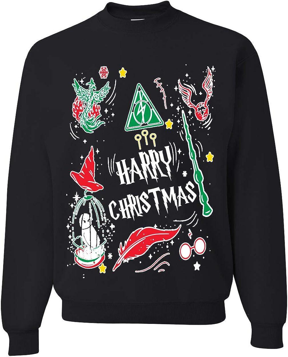 Harry Potter inspired Christmas Sweatshirt Harry Christmas image