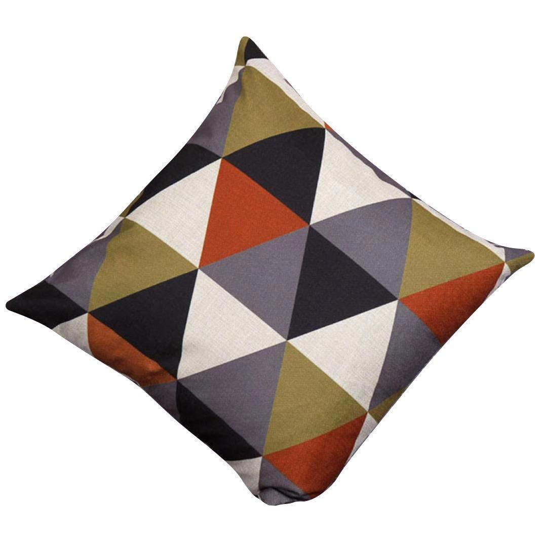 YWLINK 1PC Nuevo cojín geométrico Cubre Almohadas Decorativas ...