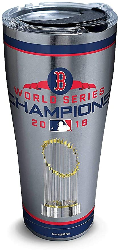 20205561c01 Amazon.com | Tervis 1316126 MLB Boston Red Sox 2018 World Series Champions  Insulated Tumbler with Clear and Black Hammer Lid, 30oz Stainless Steel, ...