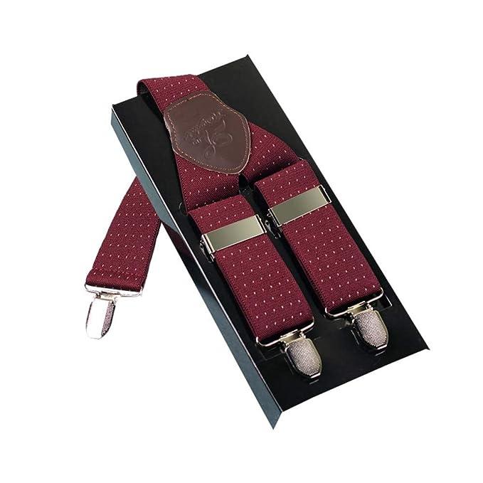 stile popolare comprare a buon mercato negozio online YLWTXDD Bretelle Per Uomo Stile Moderno Con 3 Clip-On In ...