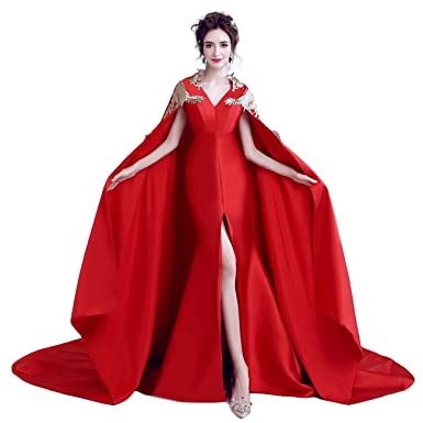 c0476a9df6742  ビビショー マーメイドドレス 赤 ロングドレス 安い スカラードレス カクテルドレ イブニングドレス パーティー