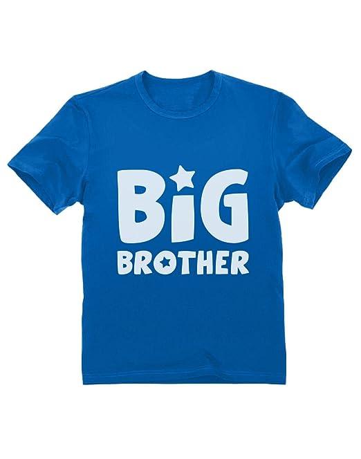 Camiseta para niños - Big Brother cumpleaños para Hermano Mayor: Amazon.es: Ropa y accesorios
