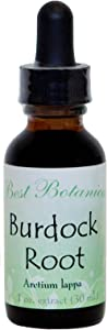 Best Botanicals Burdock Root Extract — Antioxidant Powder for Liver Support, Skin Health, Diuretic and Digestion Aid — 1 oz