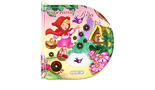 CAPERUCITA ROJA- ESTUCHE+CD: 9788498069051: Amazon.com: Books