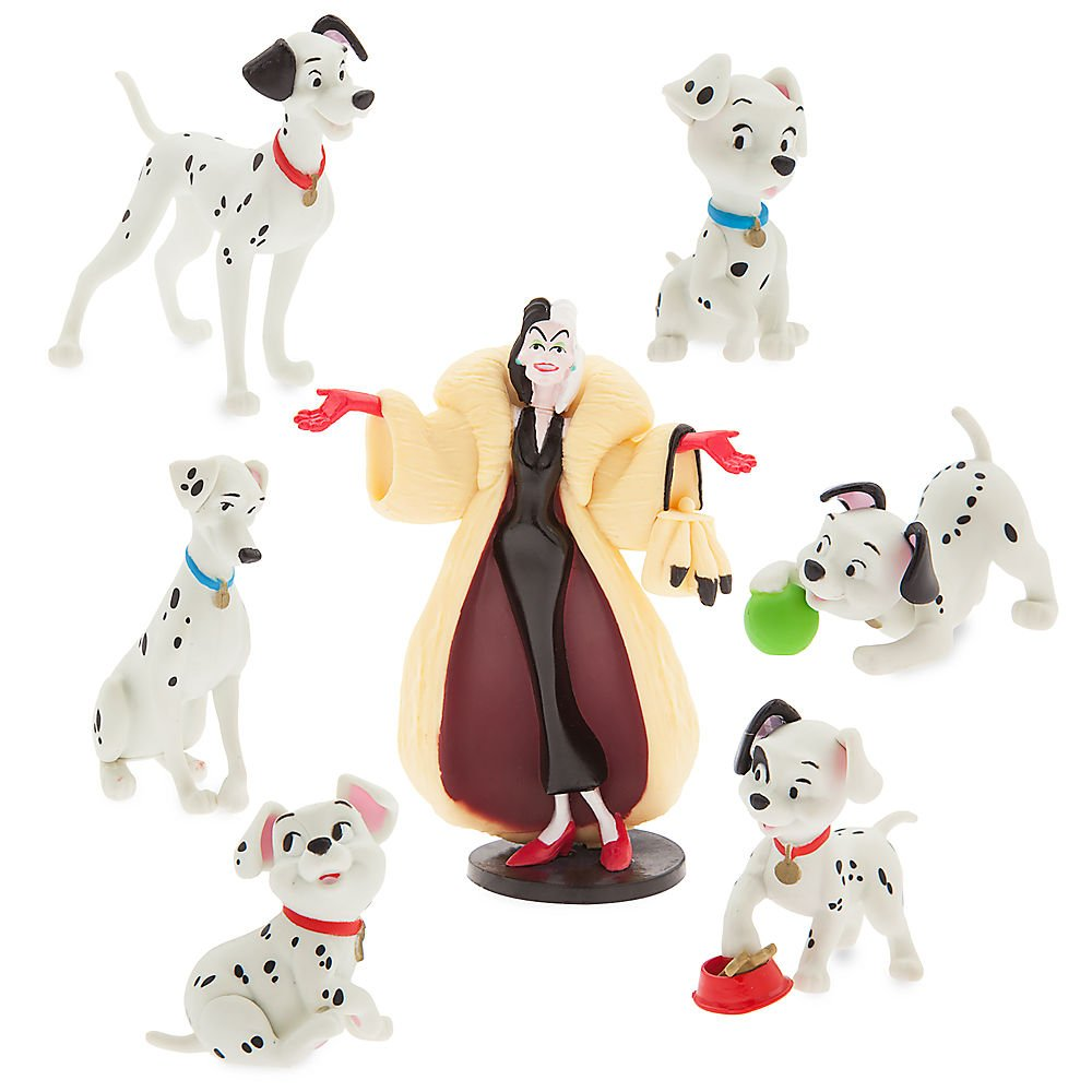 101 Dalmatians Figure Play Set by 101 Dalmatians
