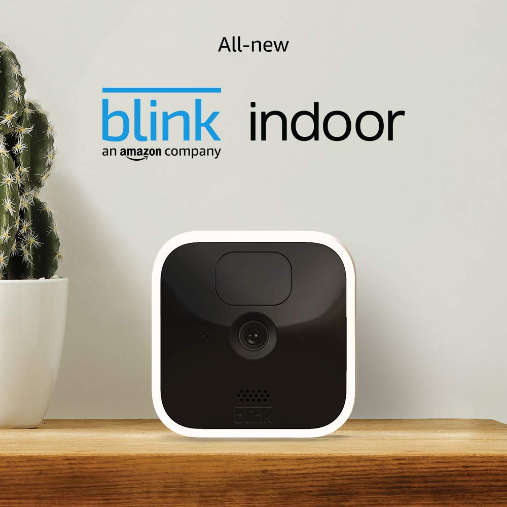 All-new Blink Indoor – wireless, HD security camera with two-year battery life, motion detection, and two-way audio – 2 camera kit