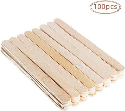 Palitos de madera para manualidades,100 piezas Palitos de madera ...
