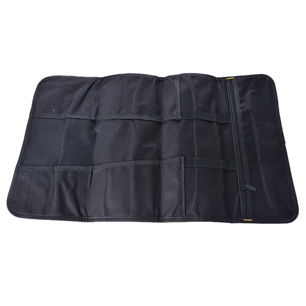 Godagoda Sac /à Outils Trousse /à Outils Rouler Portable Multi-poches Outils Rangement Clef Vis Pince Pochette Toile /Étanche Bobine avec Poign/ées de Transport,Bleu