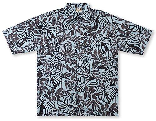 Hawaiian Barefoot Shirt Go (Go Barefoot hapa Leaf Hawaiian Shirt)