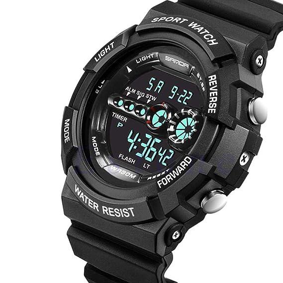 Wasserdicht Datum Led Digital Sport Quarz Analog Mens Military Armbanduhr Sport Elektronische Uhren Digitale Uhren Uhren