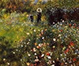 Pierre Auguste Renoir Summer Landscape Aka Woman With A Parasol In A Garden 3...