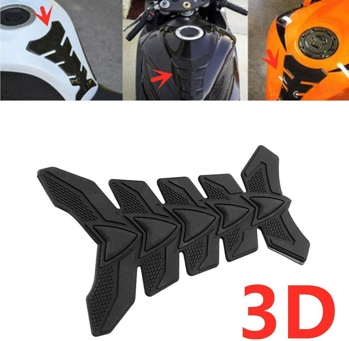 Maso Autocollant 3D en fibre de carbone pour r/éservoir de carburant de moto