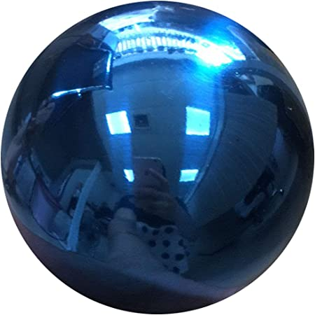 Homdsim 12 Inches In Gazing Ball Seamless Blue Stainless Steel Polished Reflective Smooth Mirror Garden Sphere Globe Props Of Photography Colorful Addition To Any Garden Home Garden Outdoor