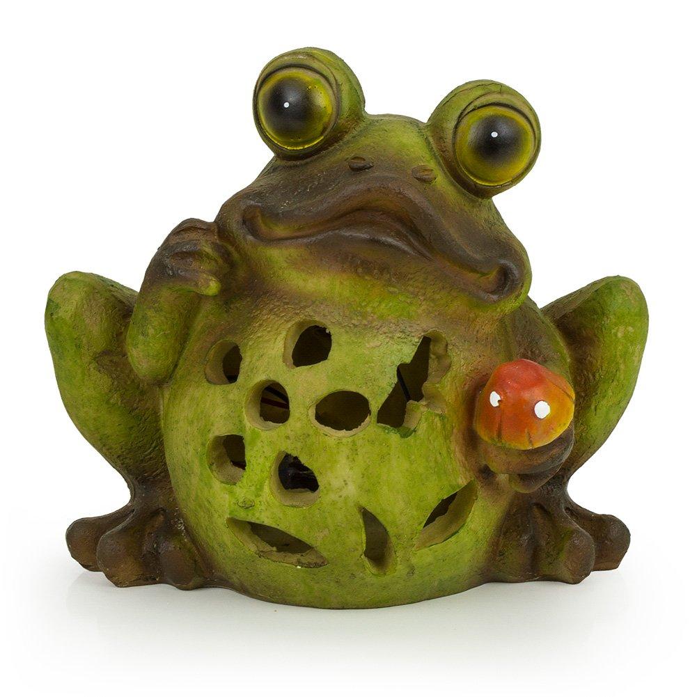 Frog Solar Garden Light