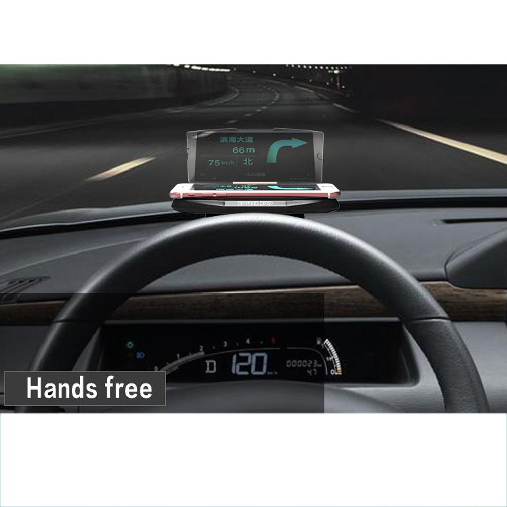WINOMO Head-up Display Car Phone Holder GPS HUD Projector for Self-driving Travel ZX3ZFU9M9T1214789RBPK3U4