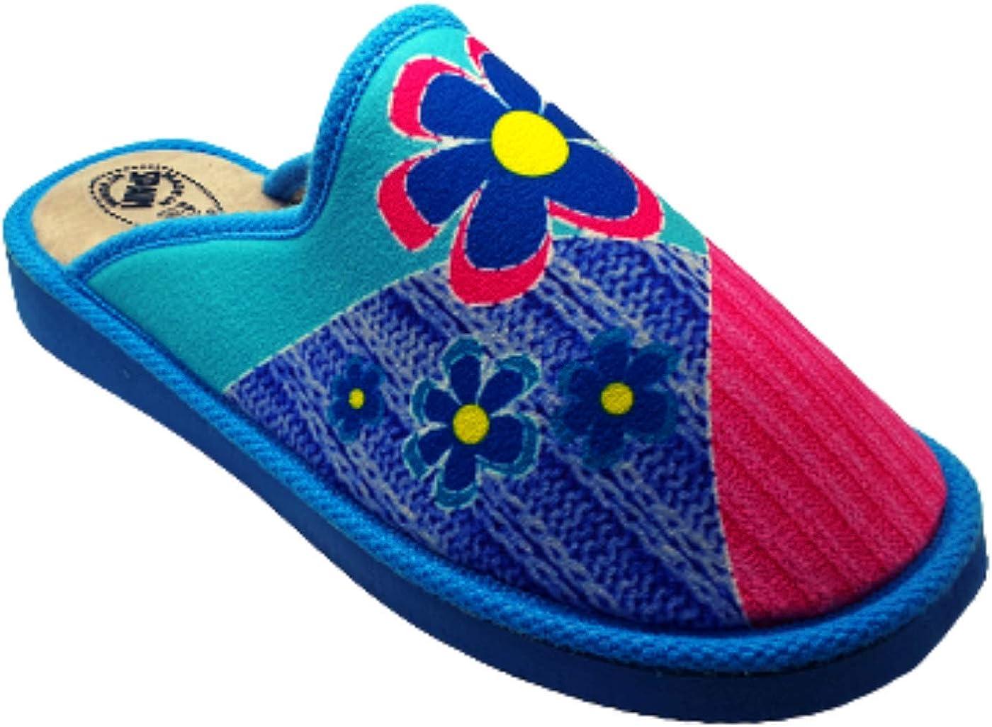 Zapatillas Casa Mujer Producto Espa/ña Pantuflas Felpa Suela Cu/ña Babuchas Mujer Invitados Slippers Zapatillas de Estar por Casa a Diario