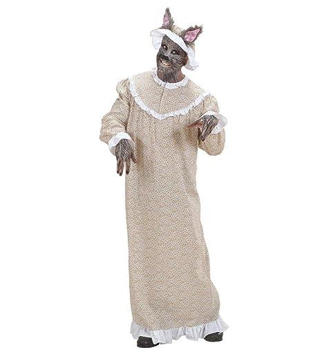 Disfraz de Lobo de Abuela para Adultos de Partypack, Tallas 36 a ...