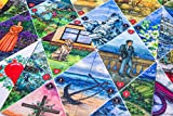 Lenormand Solitaire. Imaginative 2-Deck Oracle Card Set - an Unusual Addition to The Tarot Card and Lenormand Oracle Universes