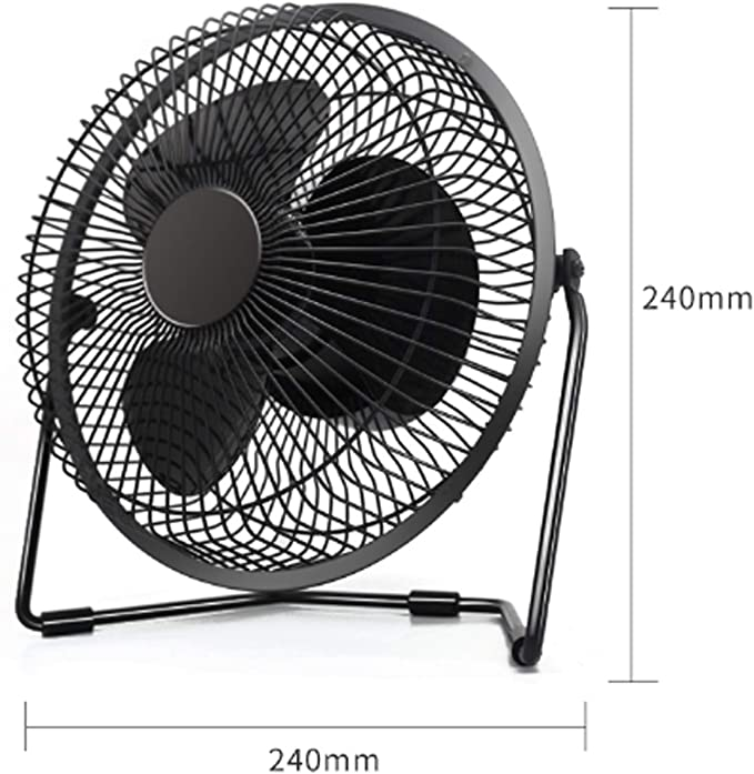 Seven-Leaf Design Low Noise 3 Speeds for Home Office Outdoor Travel,Pink ZLYGY Mini Portable USB Fan can Be Used as a Charging Treasure